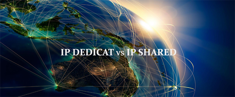 ip dedicat vs ip shared